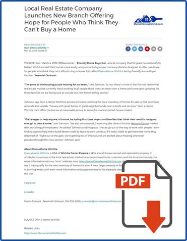 Download Press Release PDF
